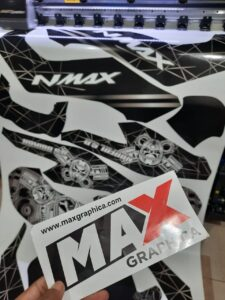 sticker decal nmax maxgraphica sidoarjo